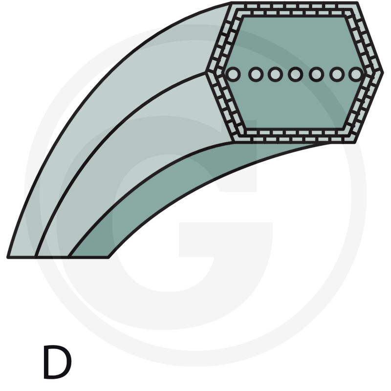 Řemen sekání AL-KO T 1000, T 13-102 HD 514877 original