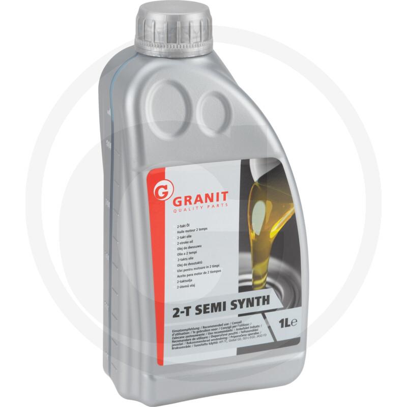 Minerální olej do 2-taktu červený 1 L