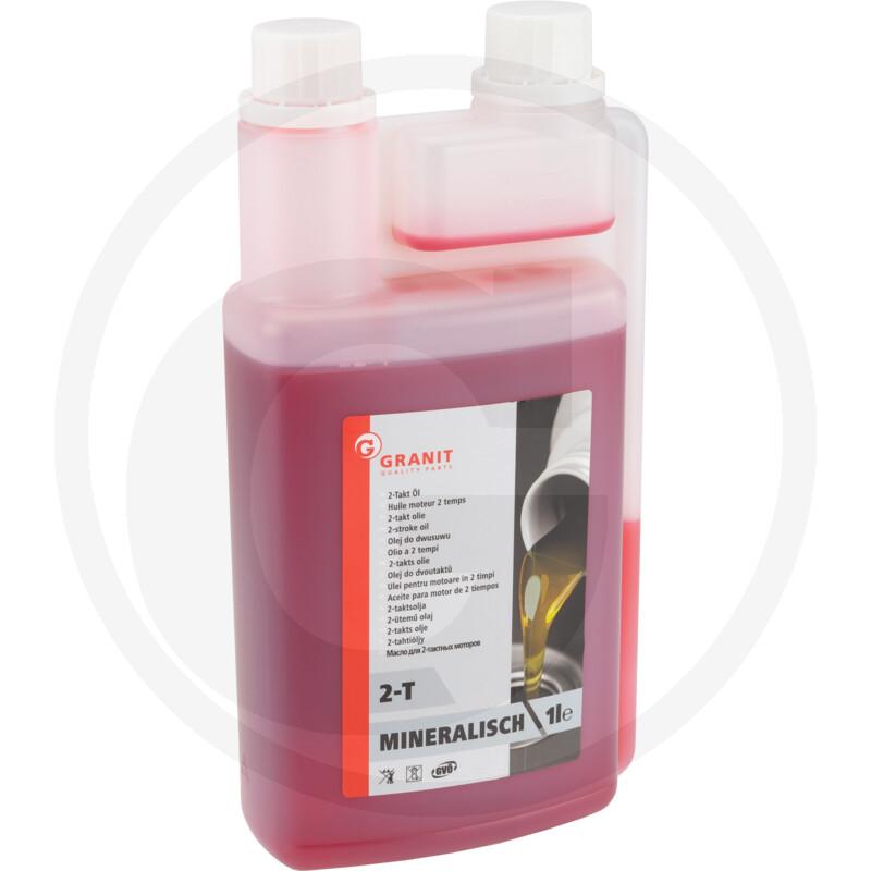 Minerální 2-taktový olej 1 L dávkovací lahev