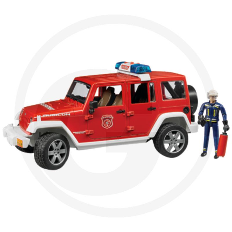 Bruder Jeep Wrangler hasičské zásahové vozidlo