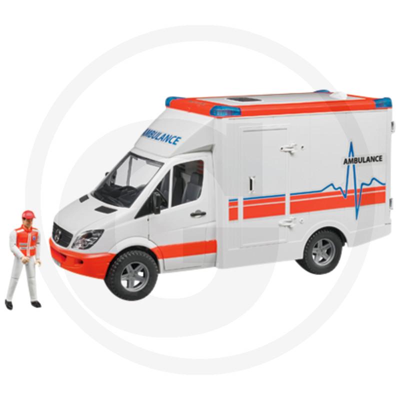 Bruder MB Sprinter ambulance