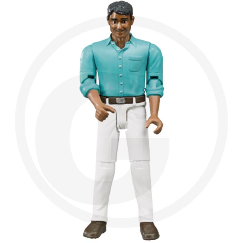 Bruder Muž se středním typem kůže a bílými kalhotami
