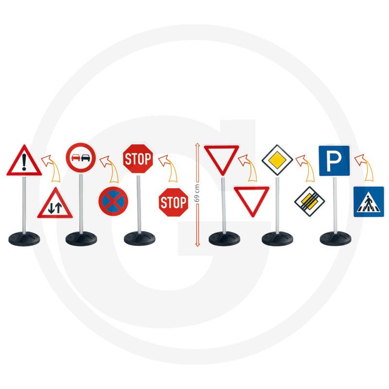 Sada dětských dopravních značek