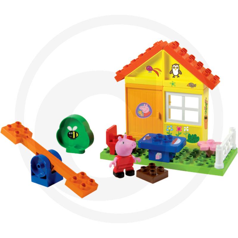 BIG BLOXX Peppa Pig zahradní domek