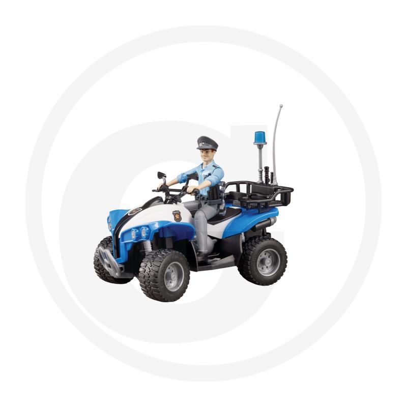Bruder Policejní Quad s policistou a vybavením