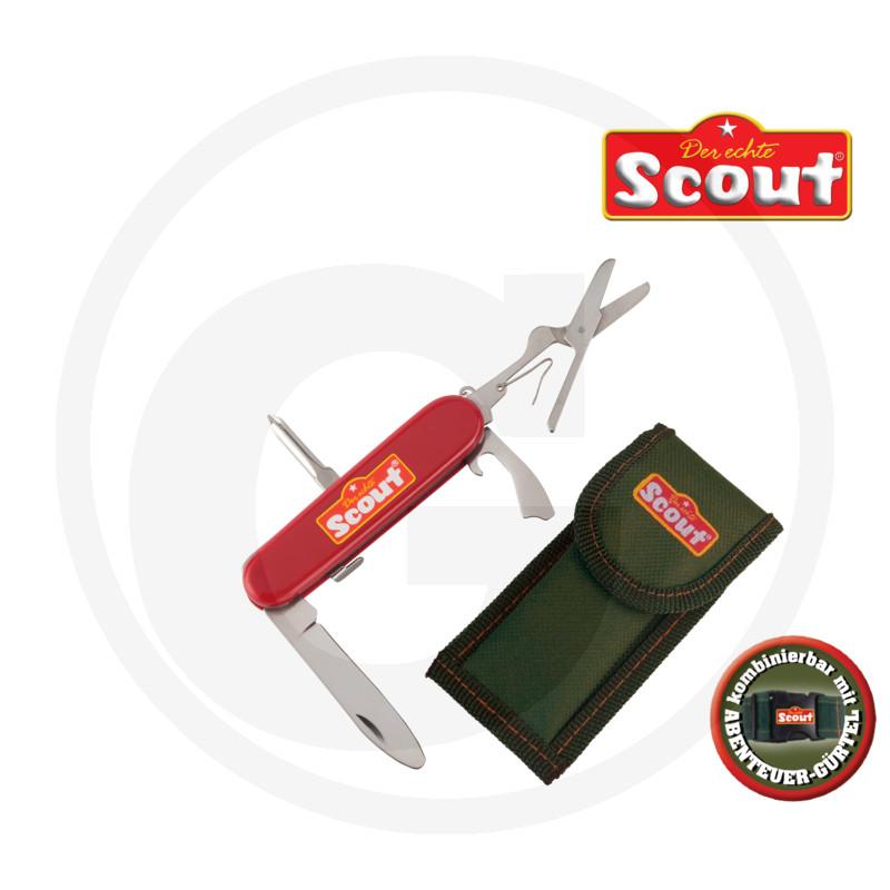 Dětský kapesní nůž s nylonovým pouzdrem na opasek