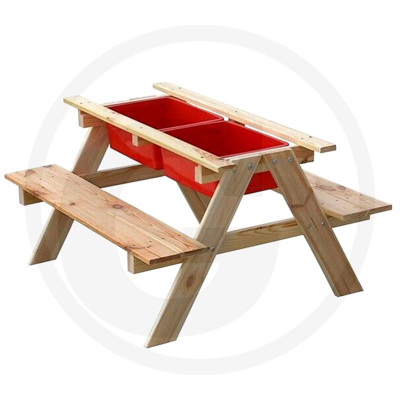 Písek a vodní stůl