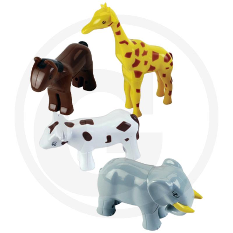 Klein Funny Magnetické puzzle - 4 domácí zvířata