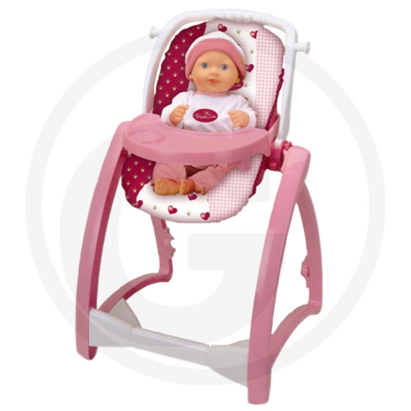 Klein Jídelní židle pro panenku (4 v 1)