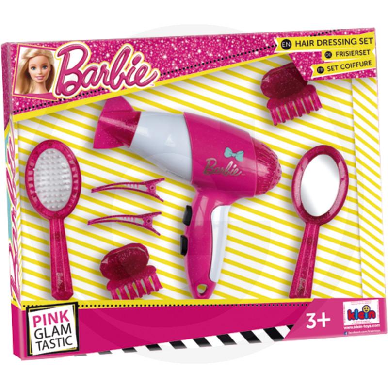 Klein Kadeřnický set s fénem Barbie