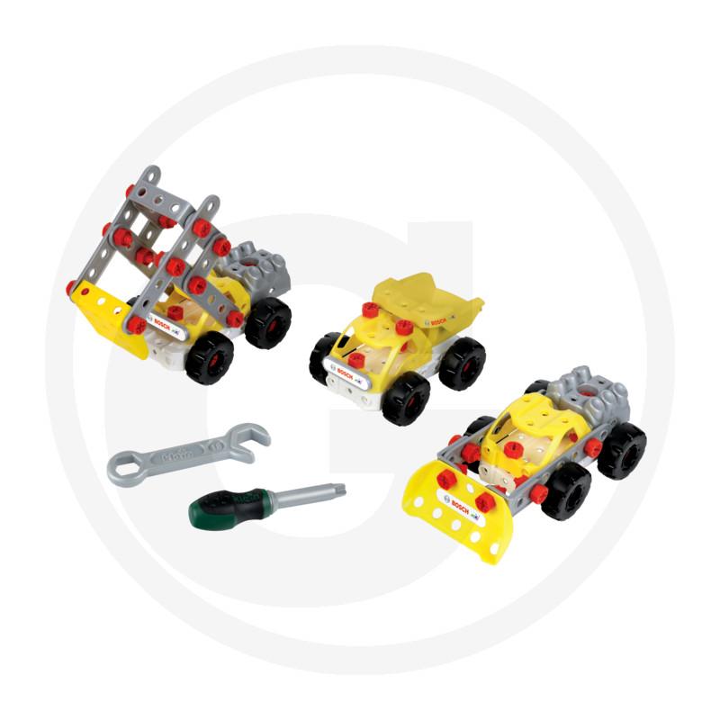 Klein Stavební vozidlo - stavebnice 3 v 1