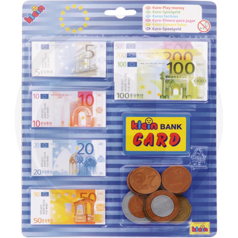 Klein Euro-peníze, Blister