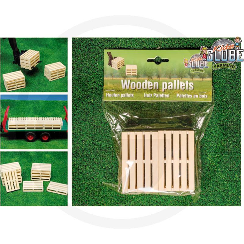 Kids Globe Dřevěná paleta, 6-dílná